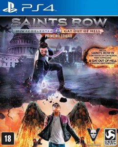 Saints Row IV Reelcted + GAT - PS4