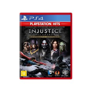 Jogo Injustice Gods Among Us (Ultimate Edition) - PS4