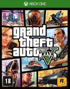 GTA V - Grand Theft Auto V - Xbox One
