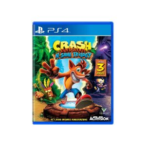 Jogo Crash Bandicoot N. Sane Trilogy - PS4