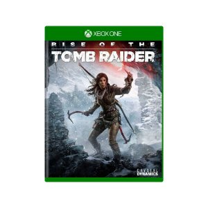 Rise of The Tomb Raider - Usado - Xbox One