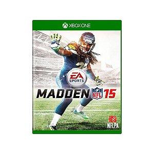 Jogo Madden NFL 15 - |Usado| - Xbox One