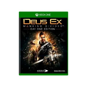 Deus Ex: Mankind Divided - Usado - Xbox One