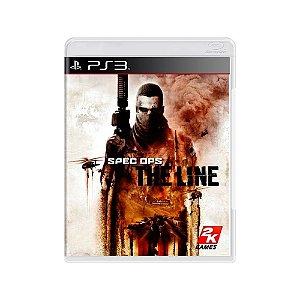Spec Ops: The Line - Usado - PS3