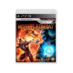 Mortal Kombat - Usado - PS3