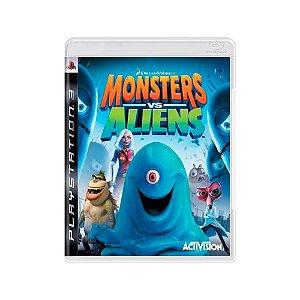 Jogo Monsters vs Aliens - |Usado| - PS3