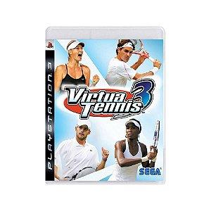 Virtua Tennis 3 - Usado - PS3