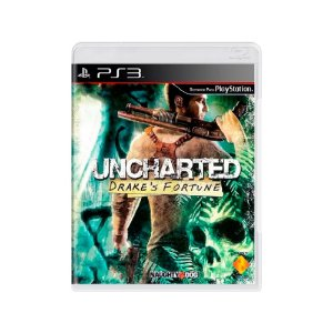 Uncharted: Drake's Fortune - Usado - PS3