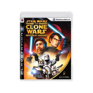 Star Wars The Clone Wars: Republic Heroes - Usado - PS3