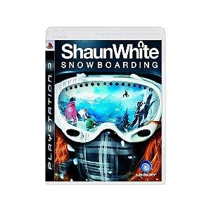 Shaun White Snowboarding - Usado - PS3