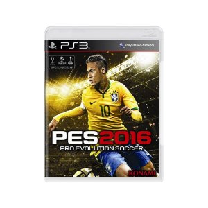 Pro Evolution Soccer 2016 (PES 2016) - Usado - PS3