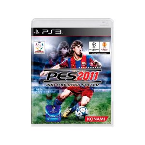 Pro Evolution Soccer 2011 (PES 2011) - Usado - PS3