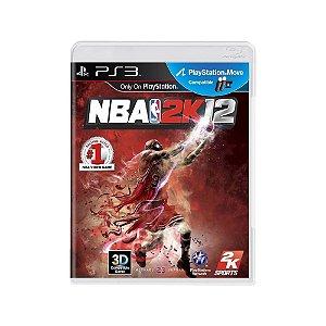 NBA 2K12 - Usado - PS3