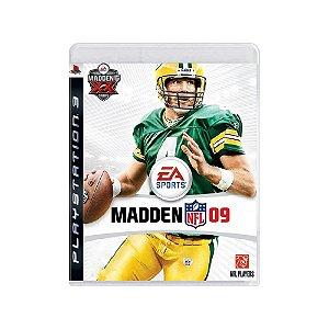 Madden NFL 09 - Usado - PS3