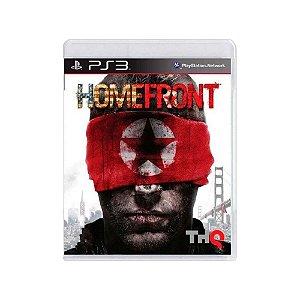 Jogo Homefront - |Usado| - PS3