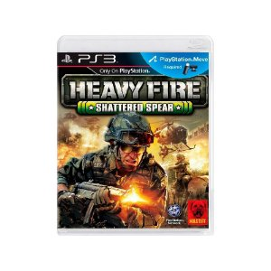 Heavy Fire Shattered Spear - Usado - PS3