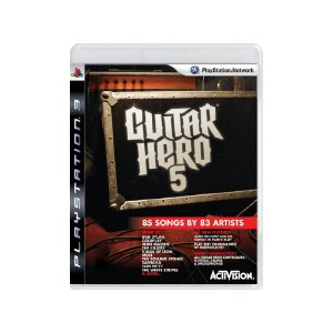 Guitar Hero 5 - Usado - PS3