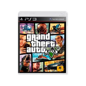 Grand Theft Auto V (GTA V) - Usado - PS3