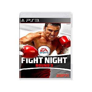 Fight Night Round 3 - Usado - PS3