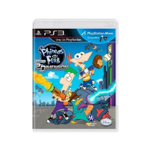 Phineas and Ferb: Across the 2nd Dimension - Usado - PS3