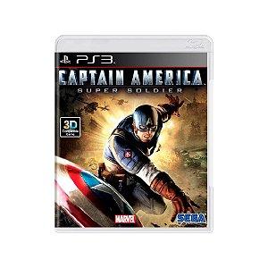 Captain America Super Soldier - Usado - PS3