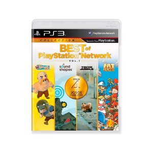 Best Of Playstation Network - Usado - Ps3