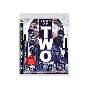 Jogo Army of Two - |Usado| - PS3