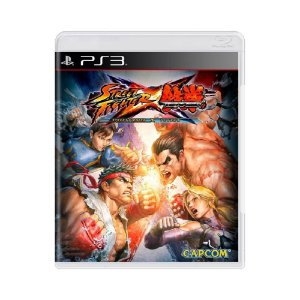 Street Fighter X Tekken - Usado - PS3