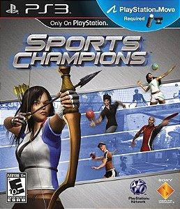 Sports Champion - |Usado| - PS3