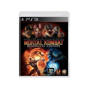Mortal Kombat (Komplete Edition) - Usado - PS3