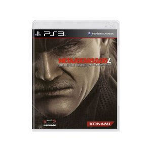Metal Gear Solid 4: Guns of the Patriots - Usado -  PS3