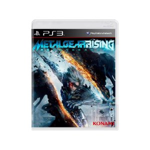 Metal Gear Rising Revengeance - Usado - PS3