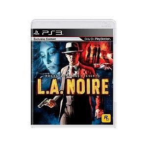 Promoção - L.A. Noire - Usado - PS3