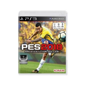 Pro Evolution Soccer 2018 (PES 18) - Usado - PS3