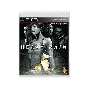 Heavy Rain - Usado - PS3