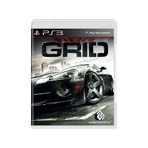 Grid - Usado - PS3