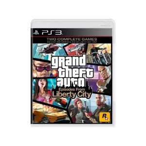 GTA: Episodes From Liberty City - Usado - PS3