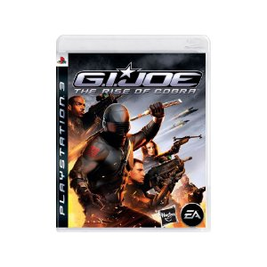 Jogo G.I. Joe: The Rise of Cobra - |Usado| - PS3