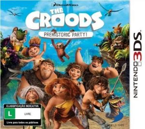 The Croods Prehistoric Party - |Usado| - 3DS