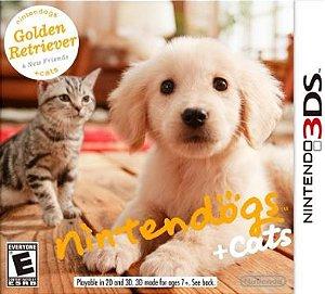 Nintendogs + Cats - |Usado| - 3DS