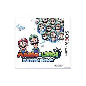 Jogo Mario & Luigi: Dream Team - |Usado| - 3DS