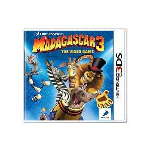 DreamWorks Madagascar 3: The Video Game - Usado - 3DS