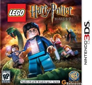 Lego Harry Potter Years 5-7 - |Usado| - 3DS