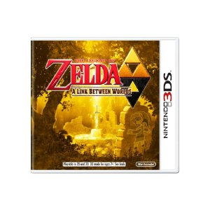The Legend of Zelda: A Link Between Worlds - Usado - 3DS