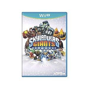Skylanders Giants - Usado - Wii U