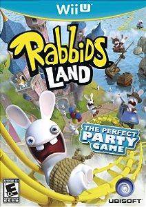 Rabbids Land - |Usado| - Nintendo Wii U