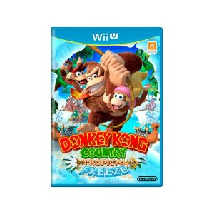 Jogo Donkey Kong Country: Tropical Freeze - |Usado| - Wii U