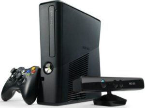 Xbox 360 Slim 4GB + Kinect |Seminovo|