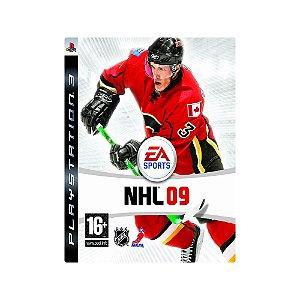 NHL 09 - Usado - PS3