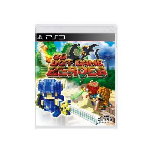 Jogo 3D Dot Game Heroes - |Usado| - PS3